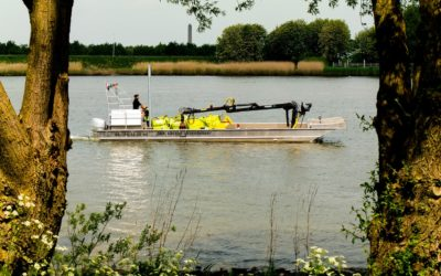 Werkboot – 12 meter met kraan