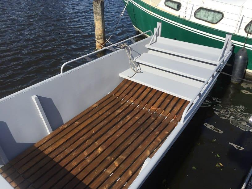 Te huur werkboot - AluminiumJON - JON 618