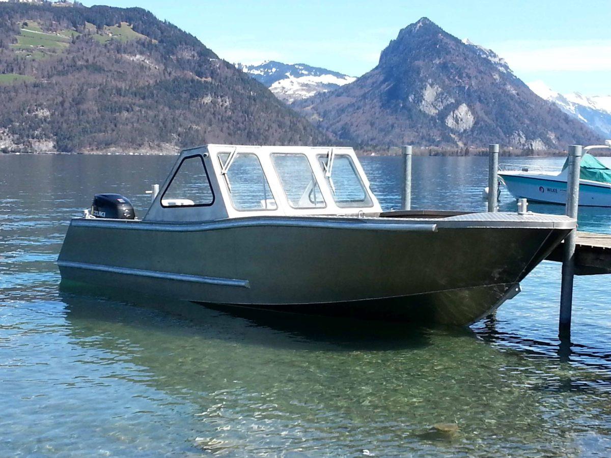 AluminiumJon Switzerland-Dealer of AluminiumJon.nl-Aluminium workboats and landing craft