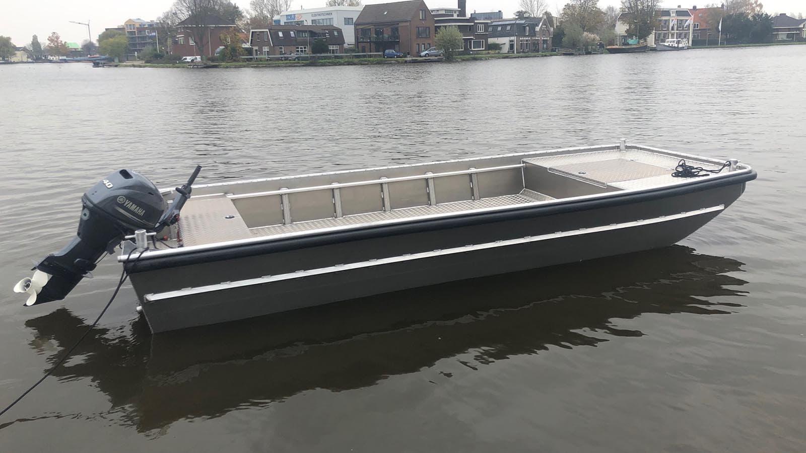 AluminiumJon.nl - JON 624 Pro - Aluminium boten