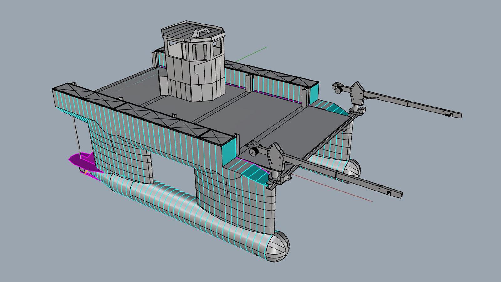 AluminiumJon.nl - bouwt supportboot Slowmill - Golfvessel