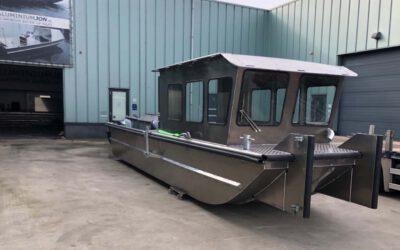Nieuwe werkboot voor DCN Diving