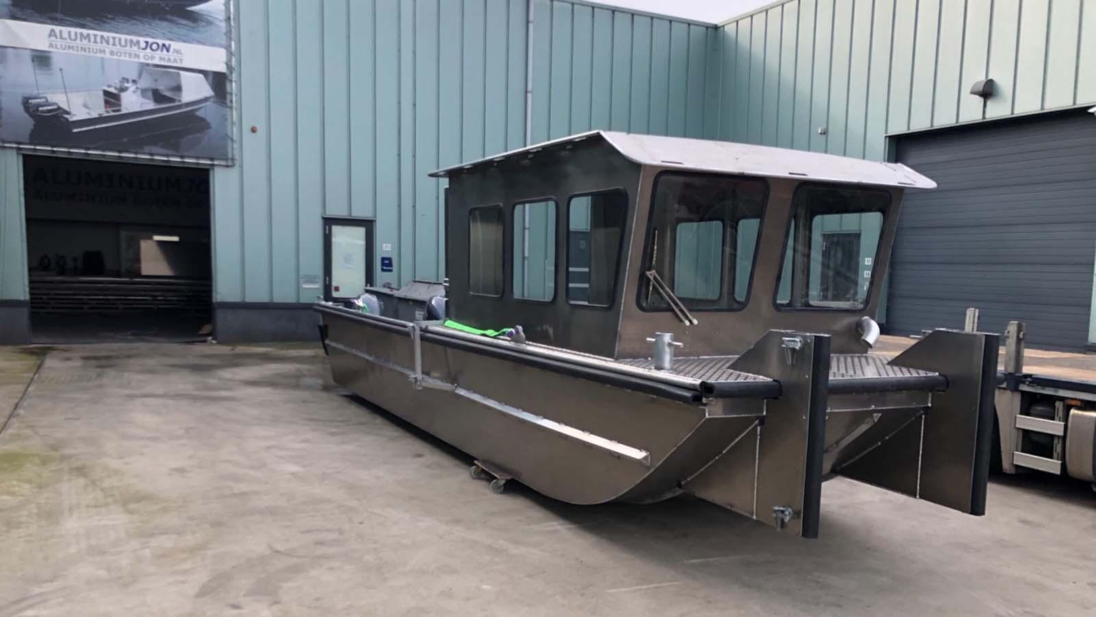 AluminiumJon.nl - Nieuwe Werkboot CDN Diving uit Bergen op Zoom